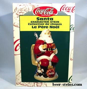 Ceramarte 1999 Coca-Cola COKE ON ICE Stein CS393 Made in Brazil