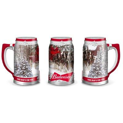 Budweiser 2017 Holiday stein