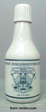 Burgermeister Burgie Beer Decanter Salt Amp Pepper Amp Steins