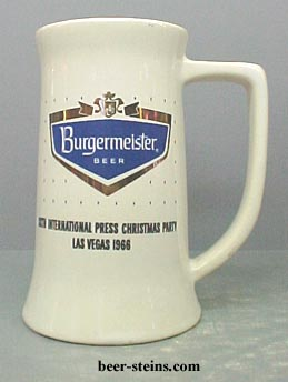 Burgermeister Burgie Beer Decanter Salt Pepper Steins