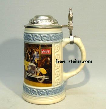 Collectible Vintage Coca Cola Beer Stein