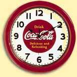 COCA COLA CLOCK PICTURE