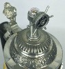 River Boat lidded stein - Top View
