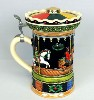 Carousel Musical lidded stein - Left View
