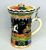 Carousel Musical lidded stein - Right View