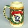 1985 Pabst King Gambrinus stein - Left View