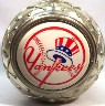 New York Yankees Canyon of Heroes lidded stein - Top View